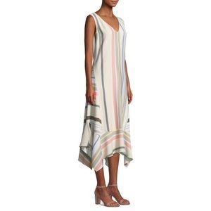 Lafayette 148 Isla Striped Maxi Dress